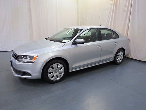 2014 VW JETTA 18T SE silver 4dr keyless entry auto 6sp loaded pw pl cd leather 44895UA 10