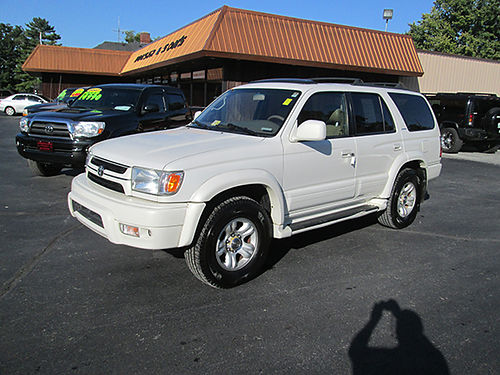 2002 TOYOTA 4RUNNER LIMITED 4x4 leather psunroof fully loaded new Michelins 139k Sharp T402