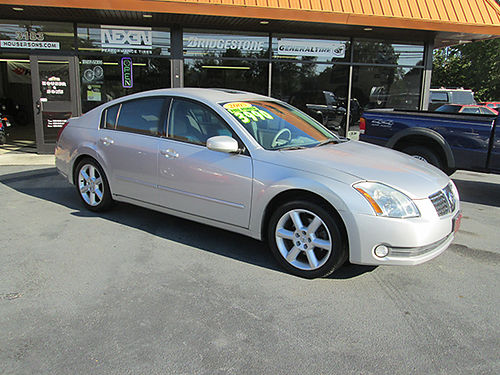 2005 NISSAN MAXIMA 35 SE 6cyl all power moonroof local trade in high miles runs great clean