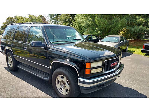 1998 GMC YUKON SLE Michelin tires 3rd row loaded 536 4995 MR Ds AUTOMOTIVE Piney Flats TN