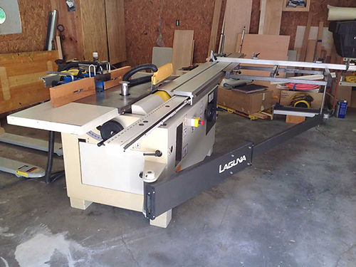 WOOD WORKING SHOP equipment Griggio twin 3hp motor table sawshaper w8 sliding table EC 5200 423