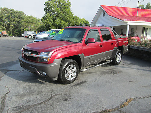 2005 CHEVY AVALANCHE Z71 4x4 leather psunroof fully loaded extra nice 27AS 11990 HOUSER  S