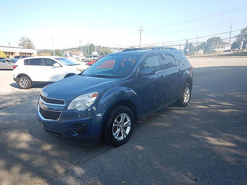 2011 CHEVY EQUINOX 24L AWD one owner 12138 12950 CARLS AUTO Blountville TN
