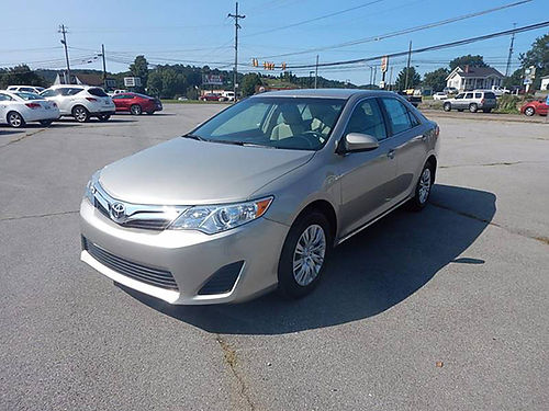 2014 TOYOTA CAMRY LE 25L one owner 20730 miles 12140 14975 CARLS AUTO 866-883-2302