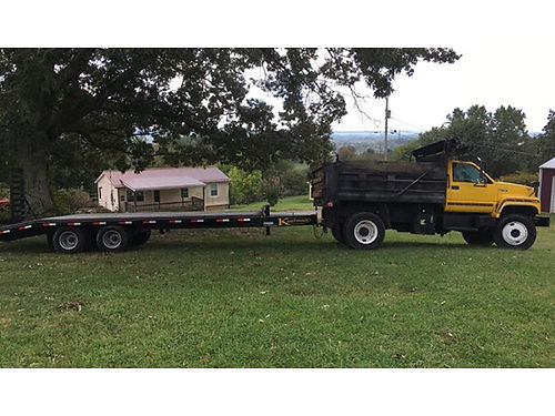 KAUFMAN FLATBED TRAILER never used pictured 22500 GVW cost 6500 asking 3880 must sell