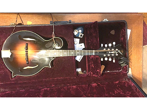 MANDOLIN Gibson F5G Master Model wcase the best playing and sounding mandolins on the market Exc