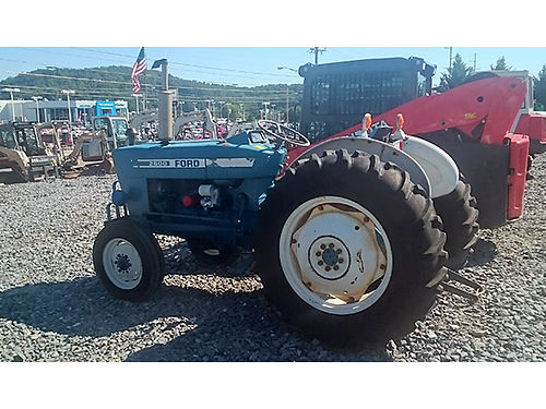TRACTOR Ford 2600 diesel good tires original 2143 hours 5400 Mason Equipment 423-926-3881
