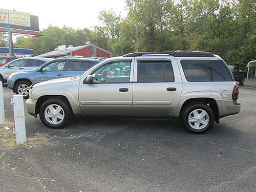 2003 CHEVY TRAILBLAZER EXT auto 6cyl 3rd row alloys power options 117k miles 7639 6900 VA D