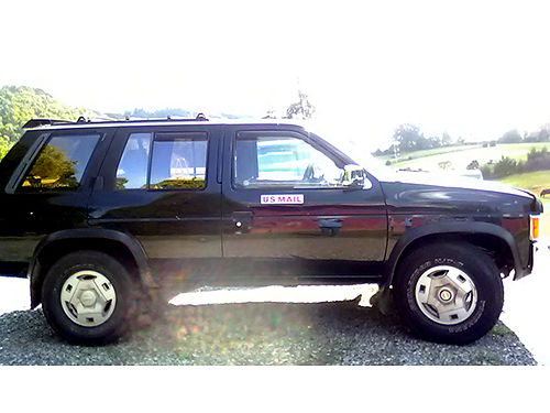 1995 NISSAN PATHFINDER 4WD Mail Vehicle converted in summer 2017 only used 3mths right hand dri