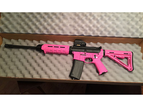 TENN ARMS AR15 0090 magpul pink 556 never fired 3lb trigger 650 276-698-0917