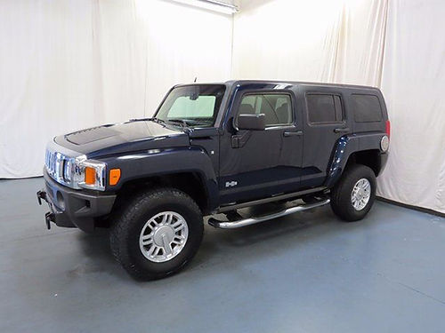 2007 HUMMER H3 4WD 4 sp auto wOD 4 dr loaded leather 00891UA 13490 BILL GATTON USED JC