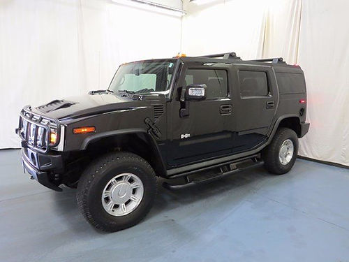 2006 HUMMER H2 base 4WD 4 dr psunroof loaded leather auto 10994UA 22995 BILL GATTON USED