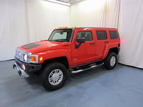 2008 HUMMER H3 base 4WD tow hitch 37L auto loaded leather cruise 61509UA 13880 BILL GATTON