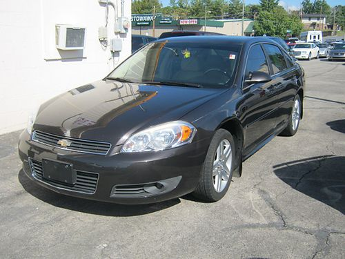 2009 CHEVY IMPALA LT brown 4dr keyless entry V6 auto loaded air all pwr CD leather tilt c