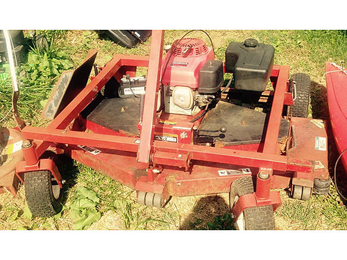 FINISH MOWER Swisher 60 cut 13hp Honda engine electric recoil start good working condition 1100