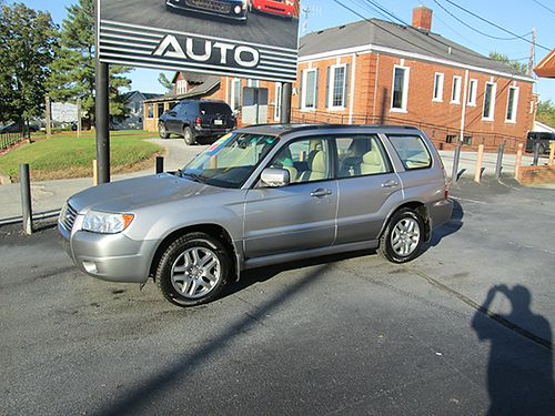 2007 SUBARU FORESTER LL Bean Edt AWD auto leather all pwr CD up to 2yr warr avail AWL7 5990