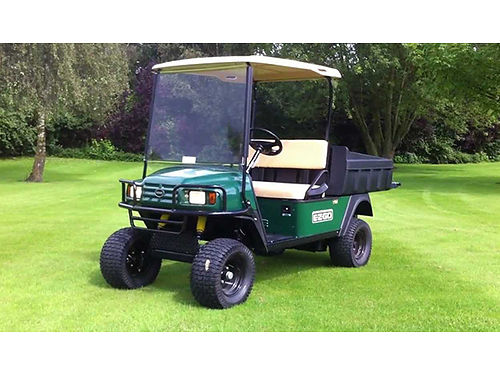 EZ GO ST350 Workhorse welec dump bed lights horn removable canopy garage kept EC 4100 423-534