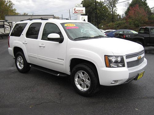 2014 CHEVY TAHOE Z71 4x4 local loaded leather alloys DVD 52k miles 8100 CALL VA DLR - SUPER