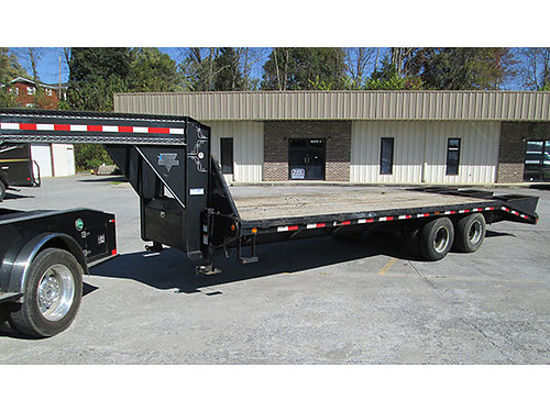 GOOSENECK TRAILER 25 dual tandem 22000lb capacity everything works GC 5700 neg 423-306-5990
