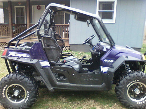 2010 POLARIS RZRS 800EFI Limited looks new 615 miles been serviced new battery 26 Bighorn tire