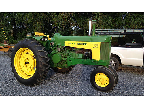 TRACTOR 1959 John Deere 730 diesel runs great ready for show or work 13000 invested selling 9
