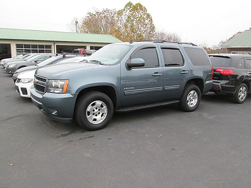 2010 CHEVY TAHOE LT 4x4 3 rd row leather loaded 4601 20496 LIGHTNING AUTO SALES Johnson City