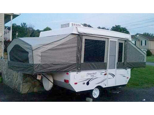 2014 FLAGSTAFF MAC pop up camper 10 box like brand new air electric crank used only 3 times E