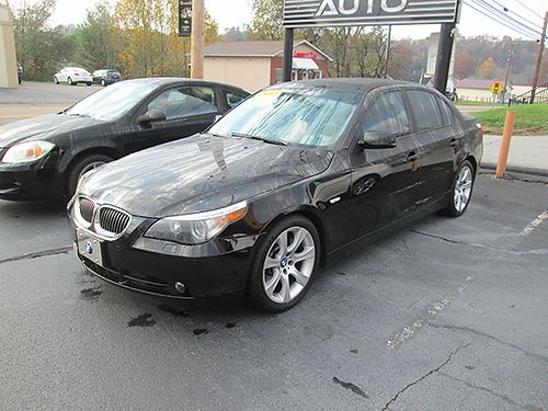 2004 BMW 545I 61k miles exc condition warranty new tires 04B545 9950 HOUSER  SONS Blountvill