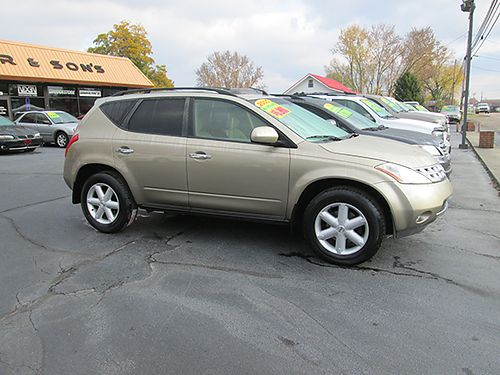 2005 NISSAN MURANO SE AWD 4 dr sunroof 121k miles new tires warranty 05NM 6990 HOUSER  SONS