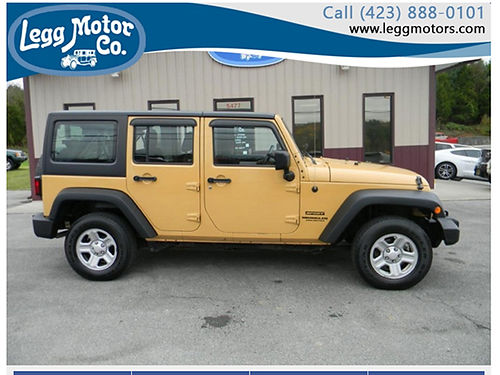 2013 JEEP WRANGLER Unlimited 4WDm 4 dr Sport 86k miles Right Hand Drive 733 22500 LEGG MOTOR