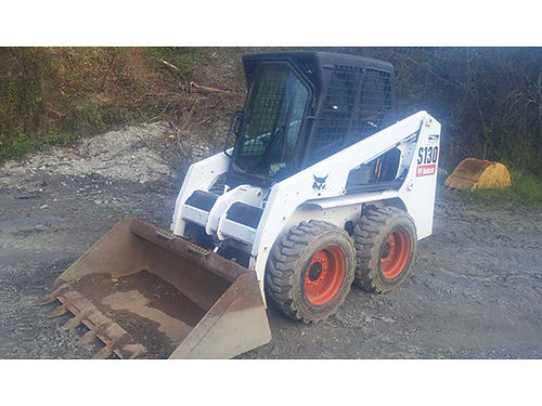 2008 BOBCAT S130 290hrs Bobcat is in excellent condition cab enclosure and windshield Ready to p