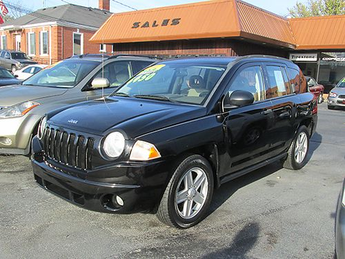 2007 JEEP COMPASS 4x4 auto air alloys warranty 105k miles 0402 6450 HOUSER  SONS Blountvil