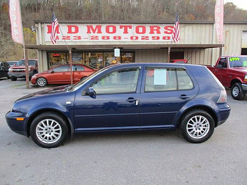 2004 VW GOLF GLS auto sunroof all pwr alloys 040240 3999 HD MOTORS KPT TN