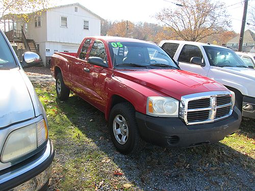2005 DODGE DAKOTA 7434A 4995 WALLACE USED CARS BRISTOL