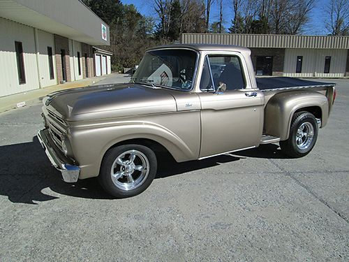 1964 FORD F100 Stepside with Ranger tailgate new 351 Windsor alum head small cam 400hp kit from S