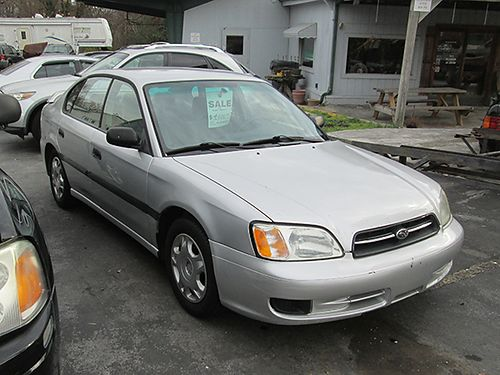 2002 SUBARU LEGACY silver 4cyl auto AWD cloth all pwr 4dr air tilt cruise 162k miles 190