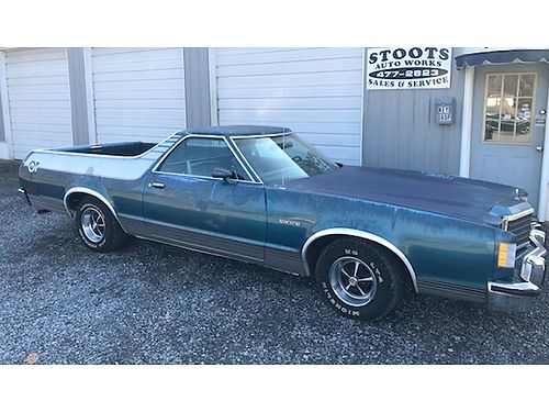 1977 FORD RANCHERO GT 80000 miles all original 400 auto 4902 4500 Stoots Auto Works 423-477-2