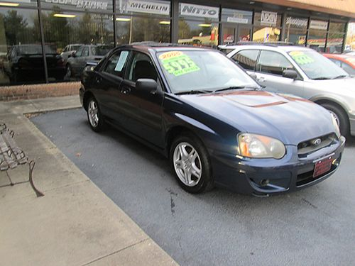 2005 SUBARU IMPREZA RS 5 sp fully loaded one owner only 108k miles runs great SI05 5995 HOUSE