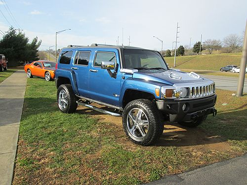 2006 HUMMER H3 auto 4x4 20s showroom new 54k miles 4902 16900 LIGHTNING AUTO SALES Johnson C