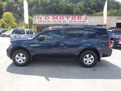 2007 NISSAN PATHFINDER SE 4X4 sunroof 3rd row all pwr alloys Low Miles 630984 9999 HD MOTO