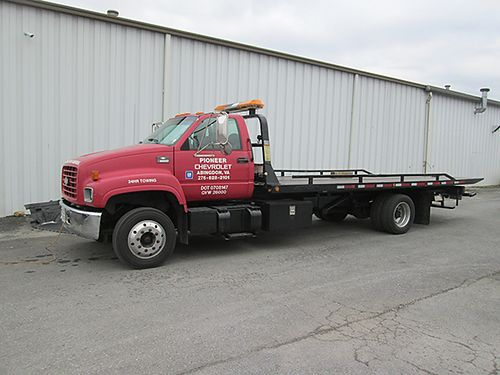 2000 CHEVY 6500 Rollback diesel one owner Cat engine 21ft steel bed 6 sp 000RB 29500 VA DLR