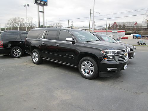 2015 CHEVY SUBURBAN LTZ 4 dr local trade 4x4 come see  drive 7666A 42995 VA DLR - PIONEER C