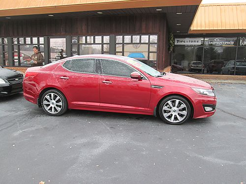 2012 KIA OPTIMA SX T-GDI heated leather panoramic roof infinity sound back up camera fully loade