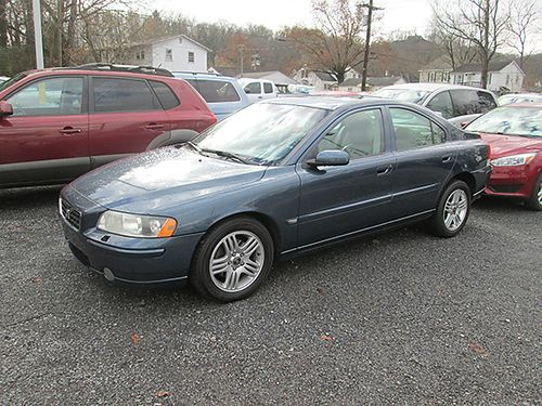 2005 VOLVO S60 AWD S18247A 5995 WALLACE USED CARS BRISTOL