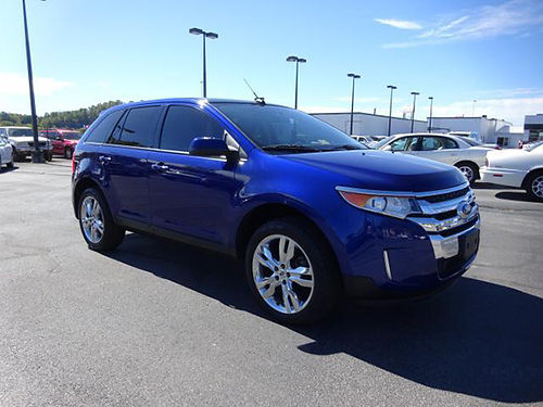 2014 FORD EDGE AWD leather NAV sunroof 20 rims 25k miles 1242 22700 VADLR - CRABTREE BUICK