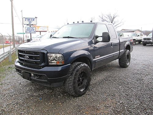 2004 FORD F250 XLT Ext Cab 4X4 FX4 OffRoad 60L powerstroke diesel auto 200k miles bullet proo