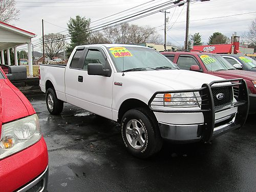 2006 FORD F150 XLT SUPER CAB 4X4 fully loaded 54L V8 auto 0302 8995 HOUSER  SONS Blountvil