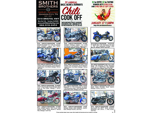 NEW  USED MOTORCYCLES Smith Brothers Harley Davidson 3518 Bristol Hwy Johnson City TN 423-283-0422