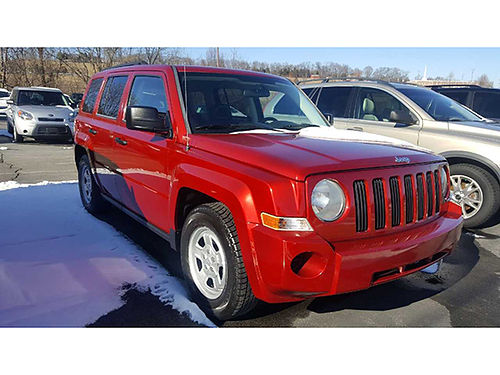 2009 JEEP PATRIOT burgundy 4 dr keyless entry 4 cyl loaded 602148 LAKESIDE AUTO CENTER Johnso