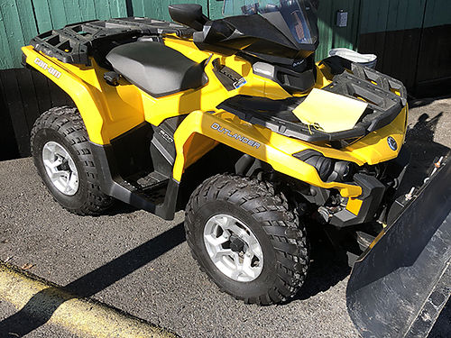 2013 CAN-AM OUTLANDER 500 windshield power steering 303 miles heated hand and thumb warmers win